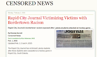 Rapid City Journal Victimizing Lakota Children on Front Page