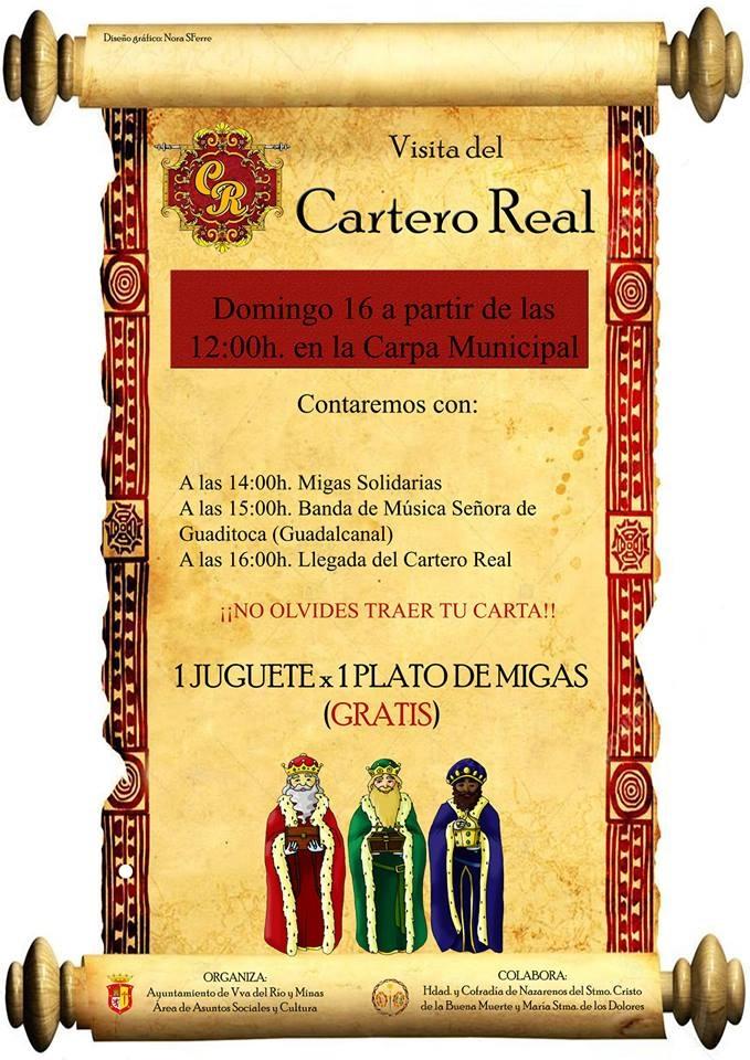 VISITA DEL CARTERO REAL