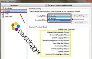 Mengunci File PDF