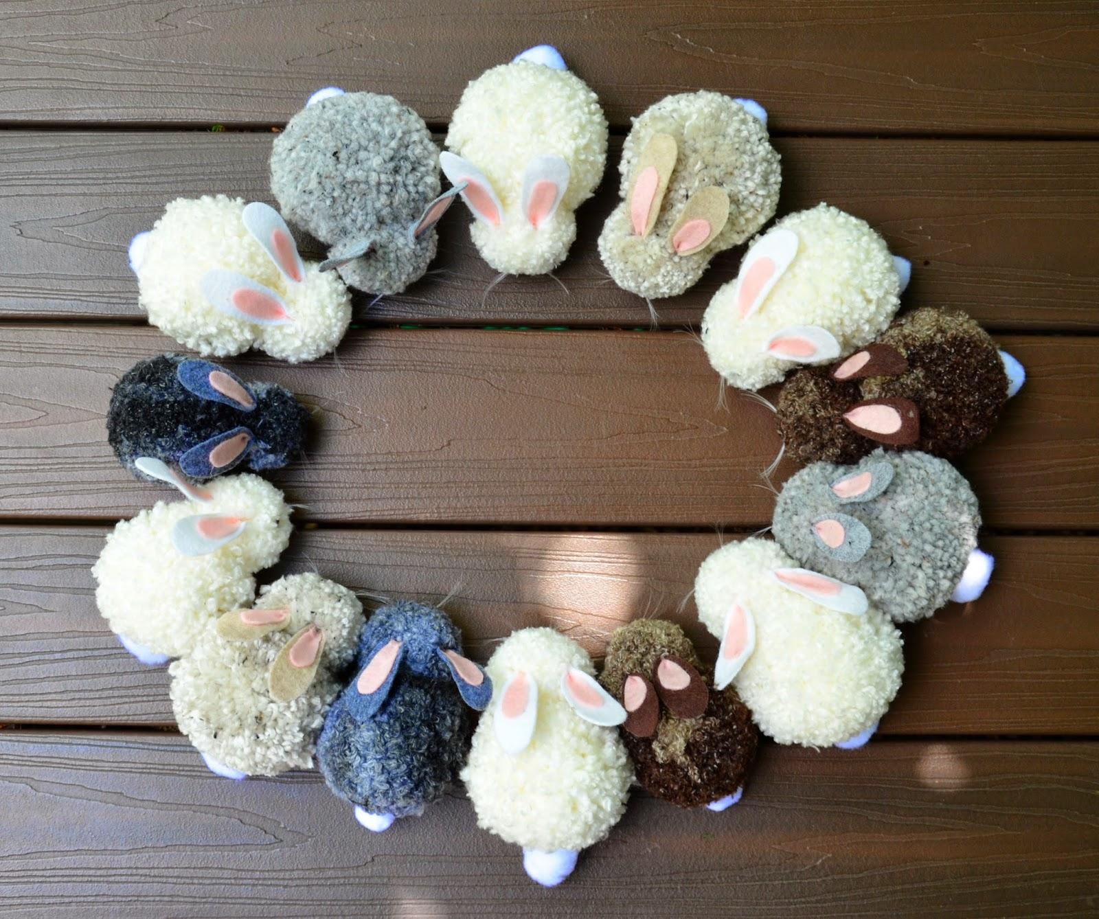 ikat bag bunny party bunnies