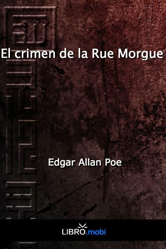 eBook Los crimenes de la Rue Morgue de Allan Poe