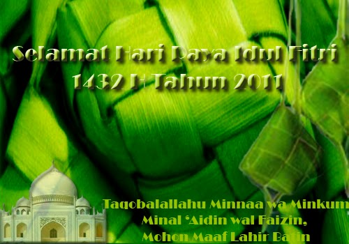 Selamat Hari Raya Idul Fitri 1432 H Mudztova