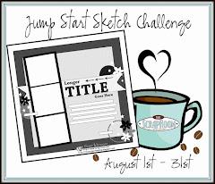 August Jump Start Sketch Challenge