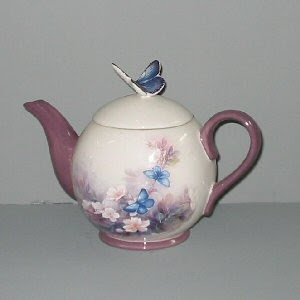 Lena Liu Butterfly Teapot