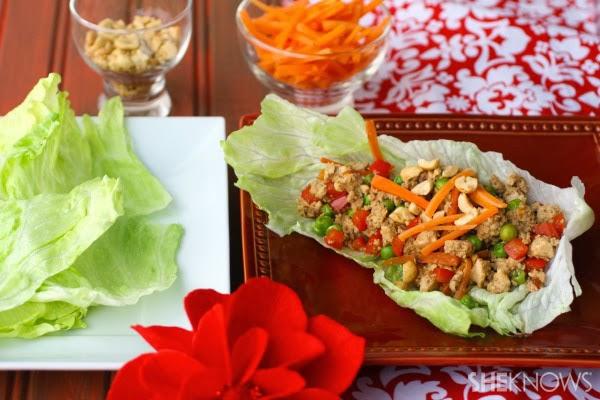Quick & Easy Tofu Veggie Lettuce Wraps Image