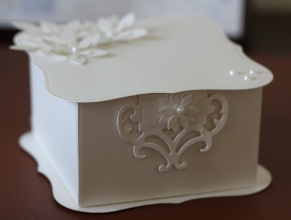 Wedding Gift Box Favors : Samples of wedding favor boxes for a friend. Recipe: Croyden White ...