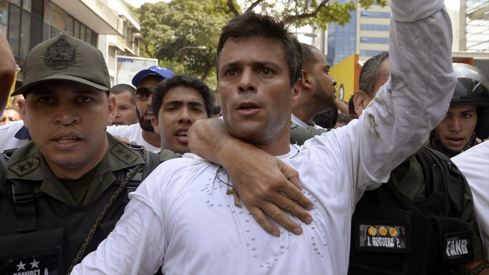 Leopoldo Lopez fue silenciado a peticion de Pablo Iglesias