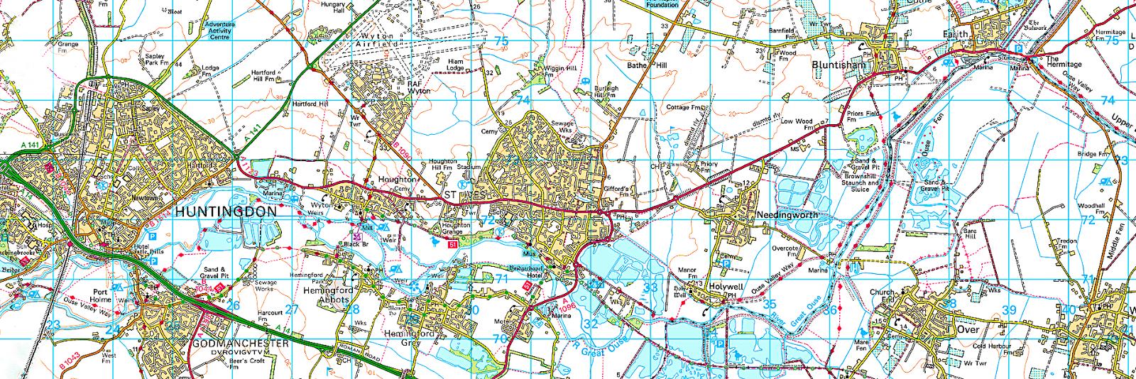 Cambridgeshire Walks Mad For Maps
