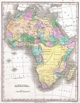 Africa-Map-1827