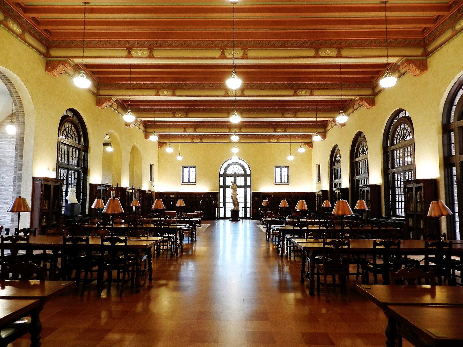 the julia ideson library dear polia the reading room of the julia ideson library houston texas