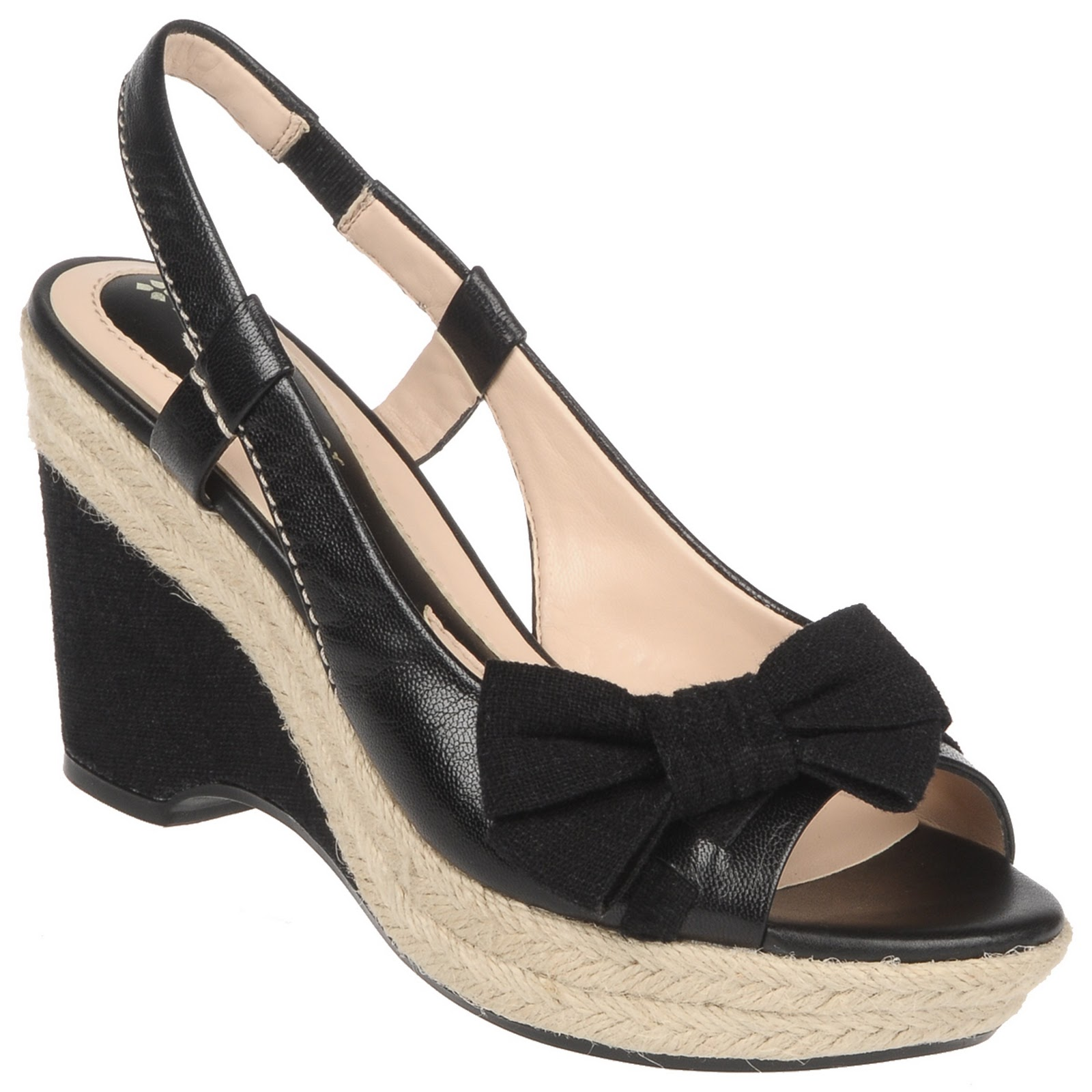 Wedge sandals Shoes Black  Shipped Free at Zappos