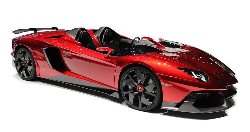 Lamborghini Aventador J Picture Car0n4n
