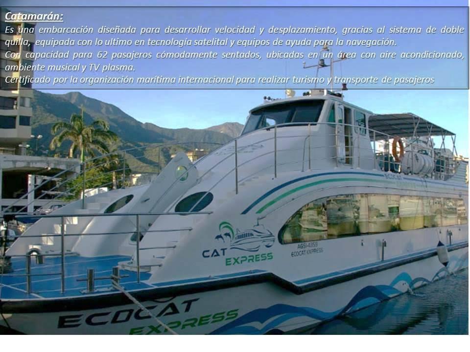La Tortuga en Catamaran