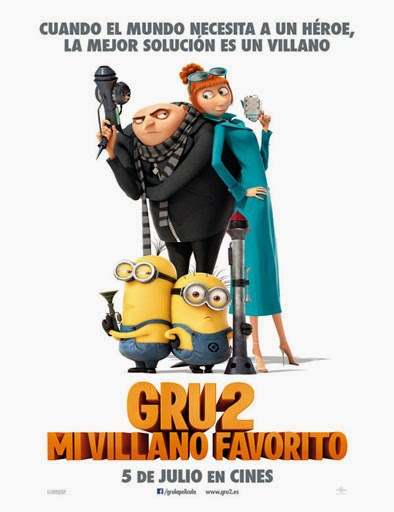 Ver Gru 2: Mi villano favorito (Despicable Me 2) (2013) Online