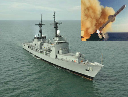 Philippine BRP Ramon Alcaraz outfitted with ASW capabilities, Harpoon missiles