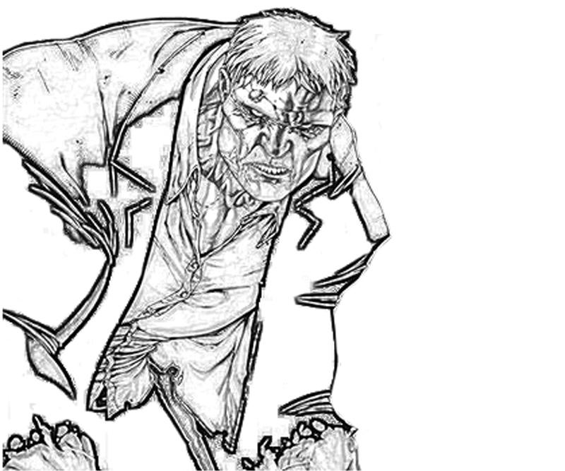 solomon grundy coloring pages - photo#12
