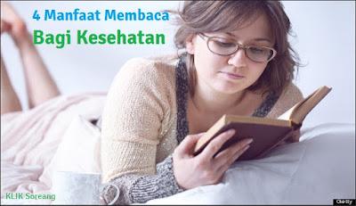 4 Manfaat Membaca Bagi Kesehatan
