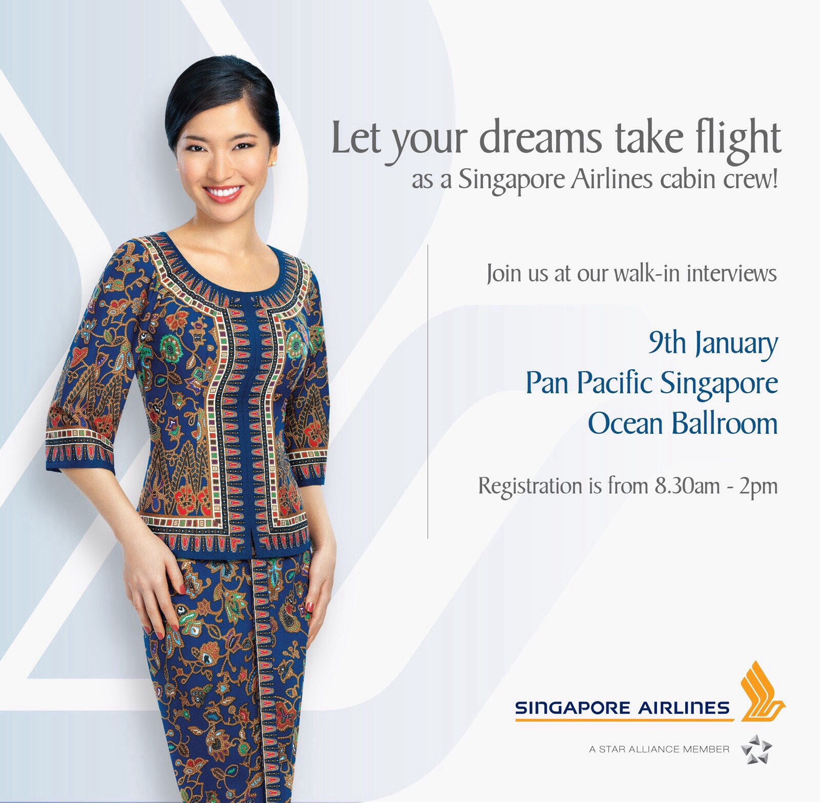 what to wear singapore airlines interview