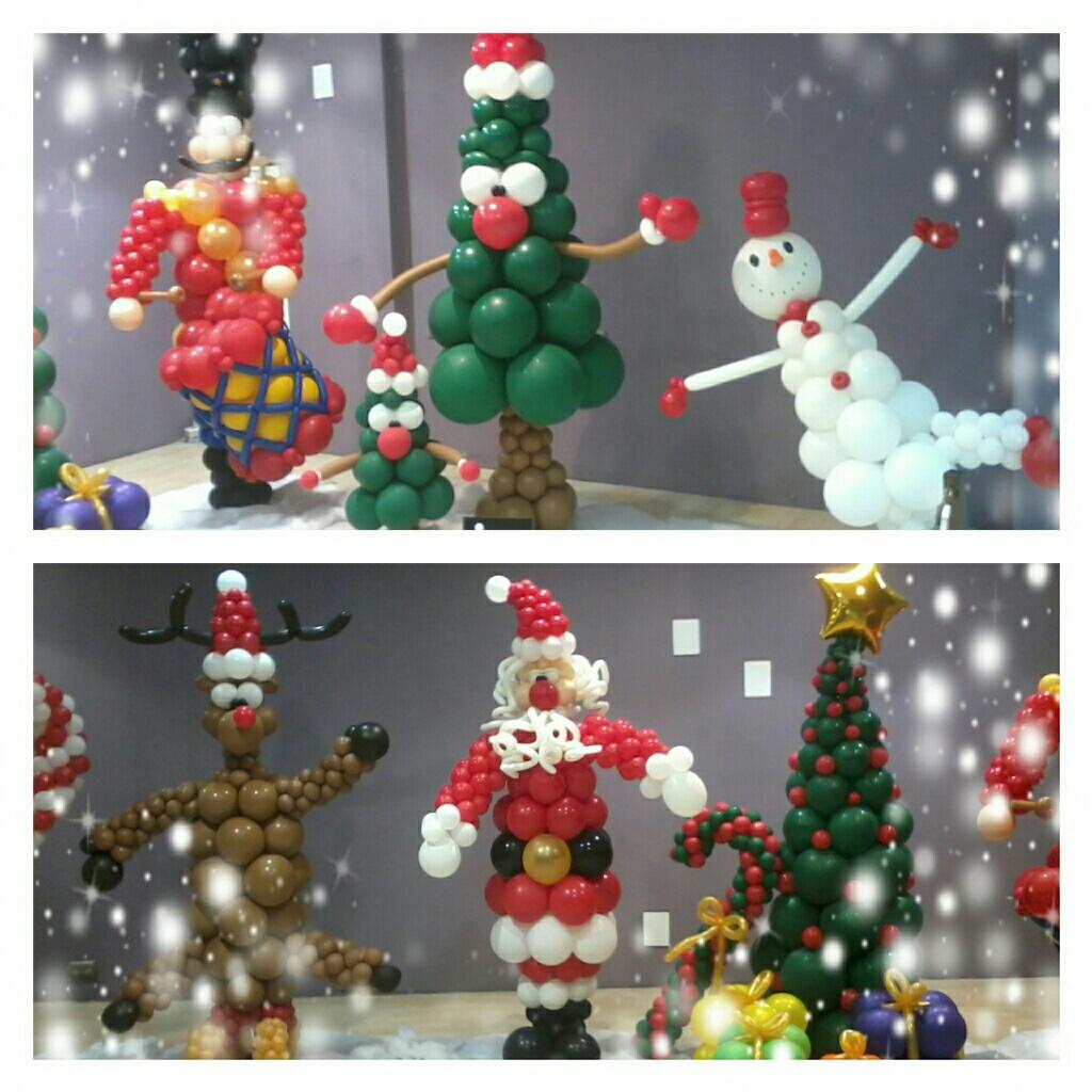 navidad glogos christmas ballons