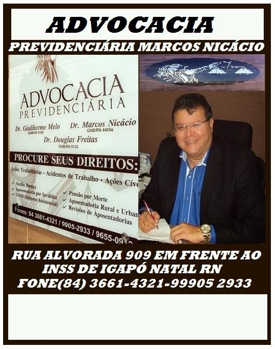 ADVOGADO DR MARCOS NICÁCIO NATAL RN