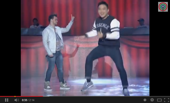 Ryan Bang dance like Vhong Navarro