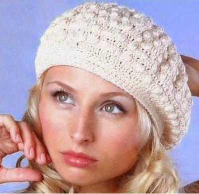 Boina a Crochet o Ganchillo