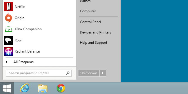 start-menu-windows-8