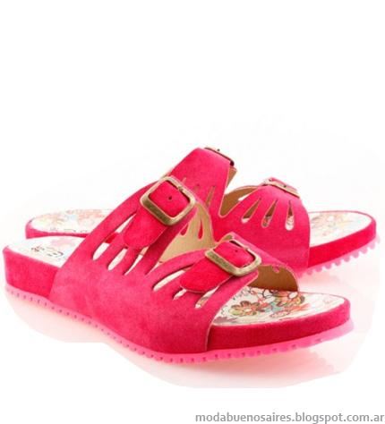 Sandalias verano moda 2013. Batistella.