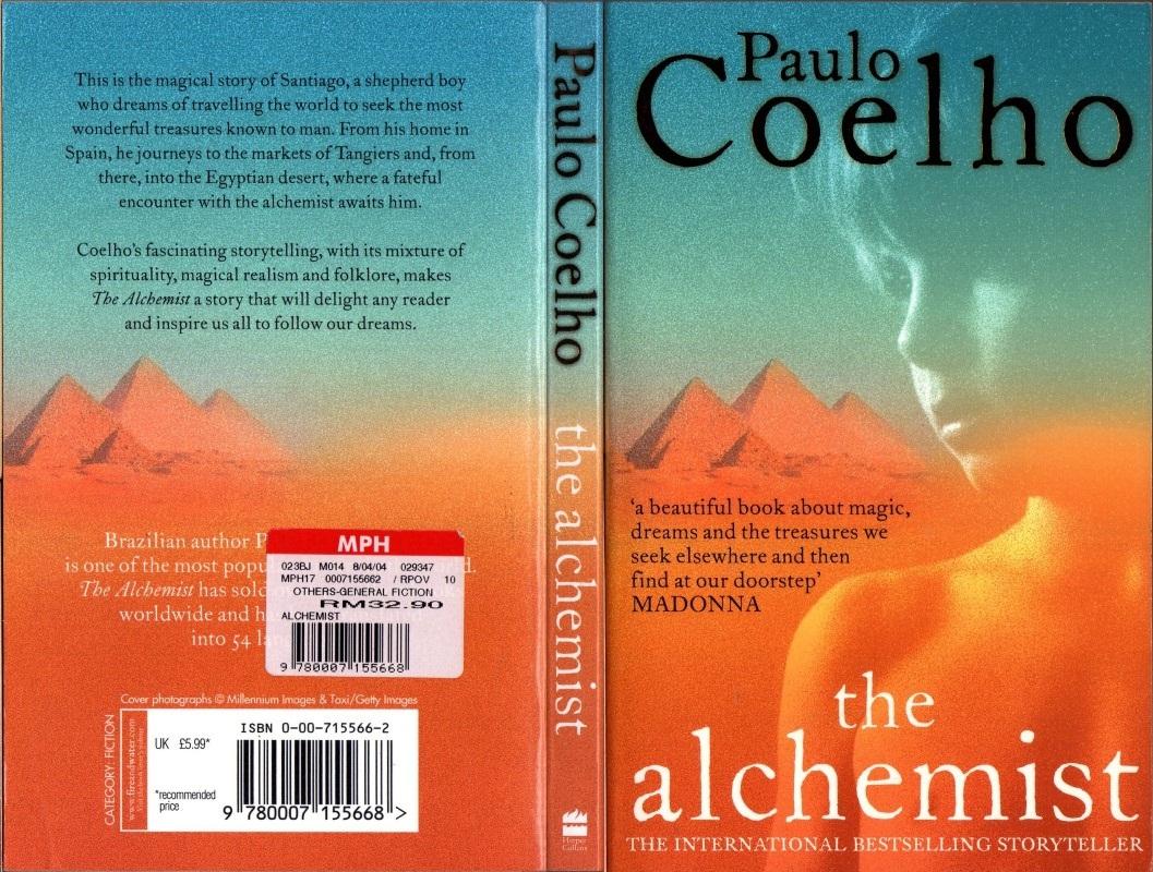 alchemist book review term paper