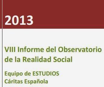 VIII Informe del Observatorio  de la Realidad Social