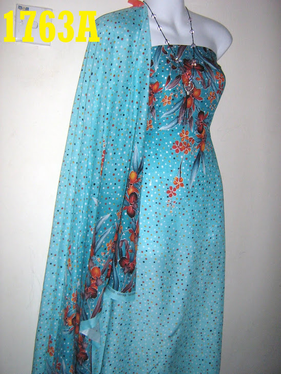 BPE 1763A: BATIK POLKADOT ENGLISH COTTON EXCLUSIVE, 4 METER