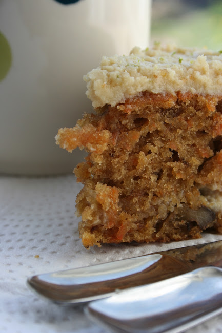 Ciasto marchewkowe z serkiem mascarpone i limonką
