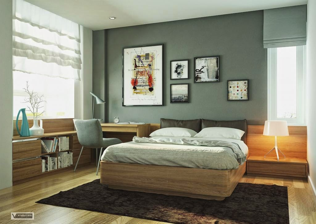 Foundation Dezin & Decor...: Master Bedroom With Study Section.