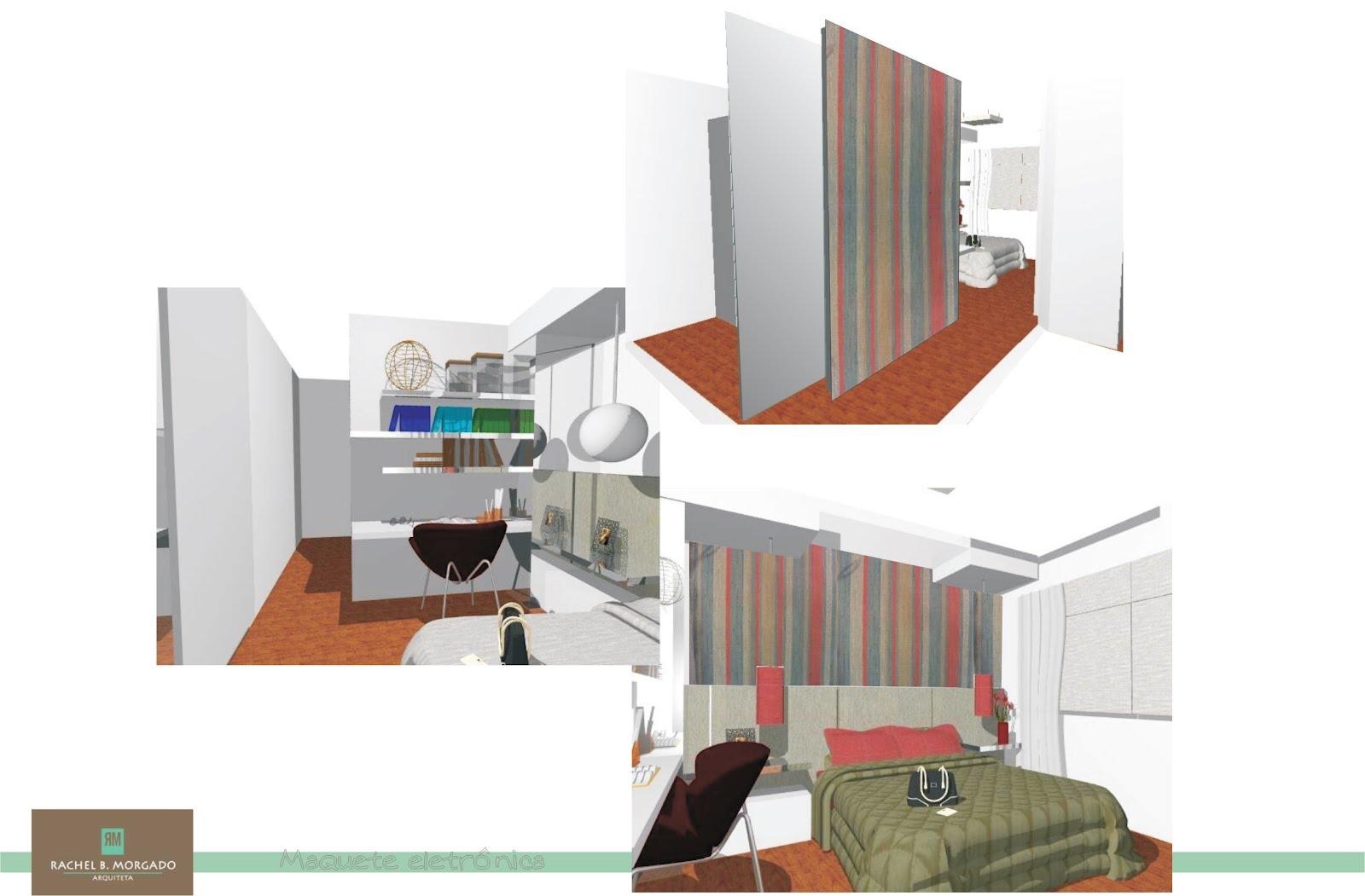partir das necessidades do casal um closet foi agregado ao quarto  #975534 1600 1051