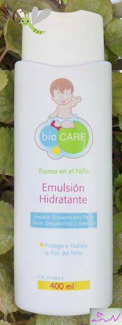 emulsión hidratente biocare atópica infantil
