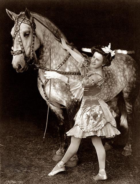 cute vintage circus