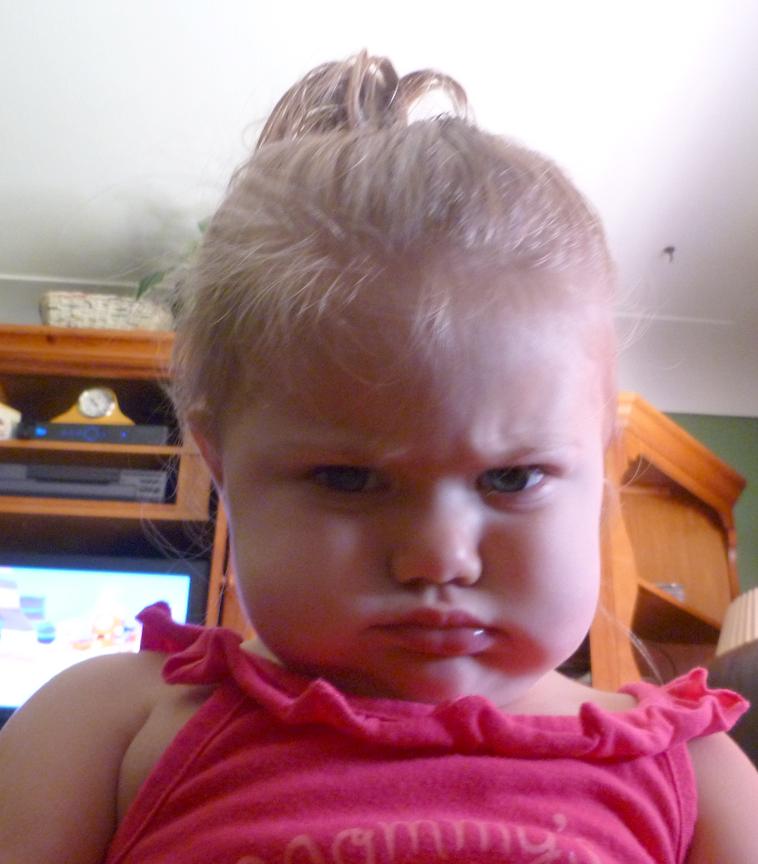 Mean Baby Faces Face