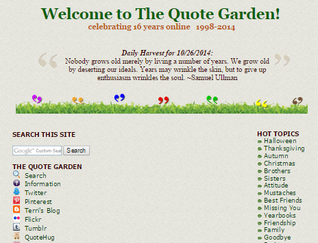 oldest quotes repository website online resource