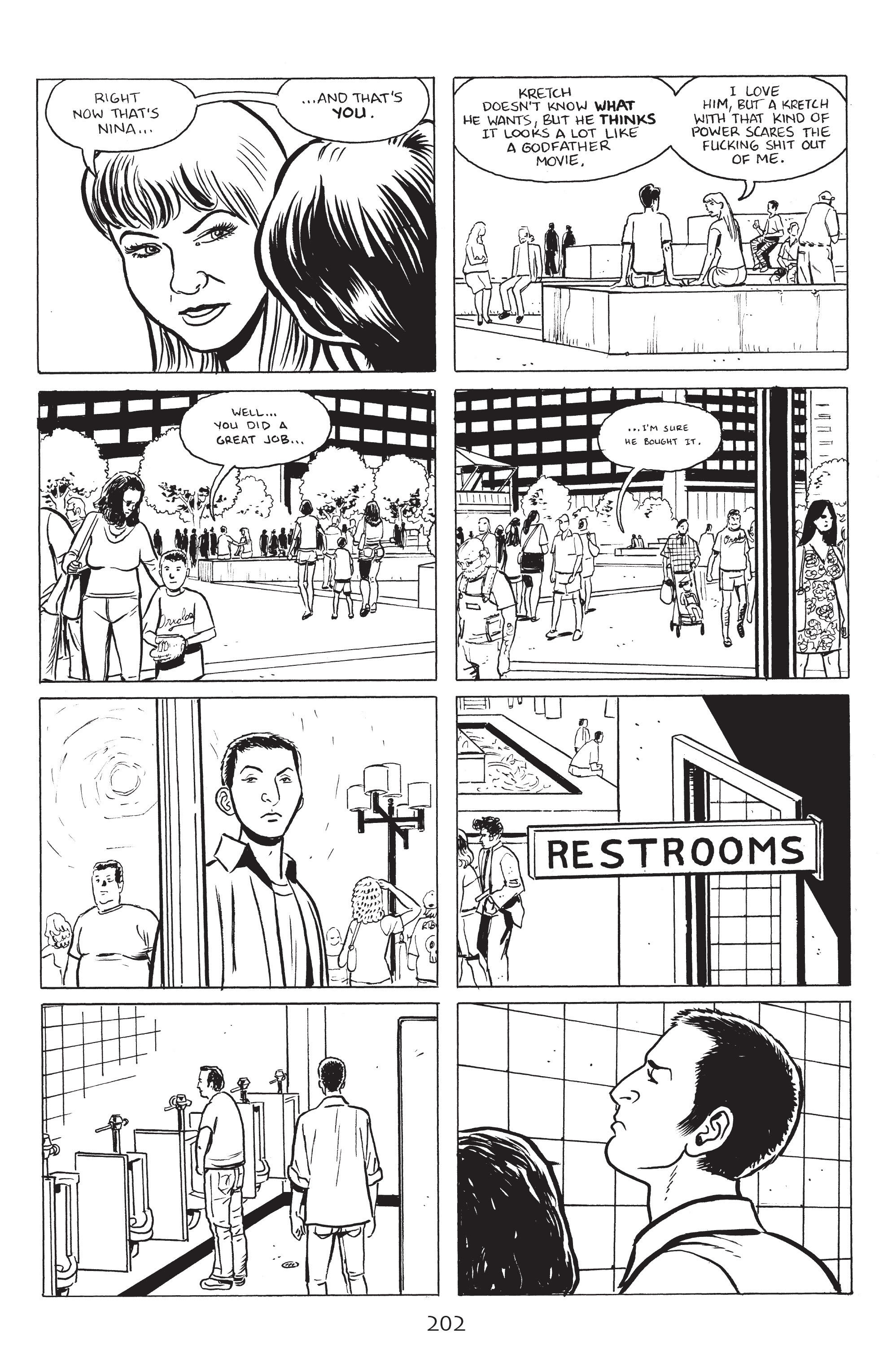 Read online Stray Bullets: Sunshine & Roses comic -  Issue #8 - 8