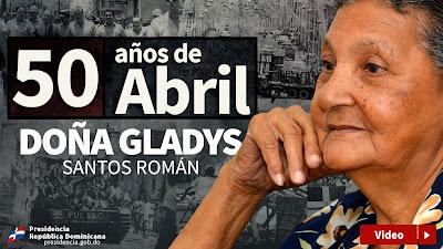[50 años de Abril] Gladys Santos Román