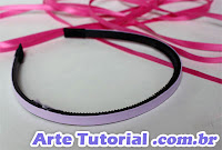 Arco para cabelo (tiara, travessa, faixa, gigolé, gigolete, testeira ou bandolete)