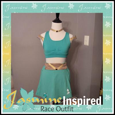Jasmine running costume