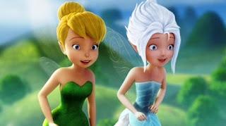 Gambar wallpaper TinkerBell dan PeriWinkle
