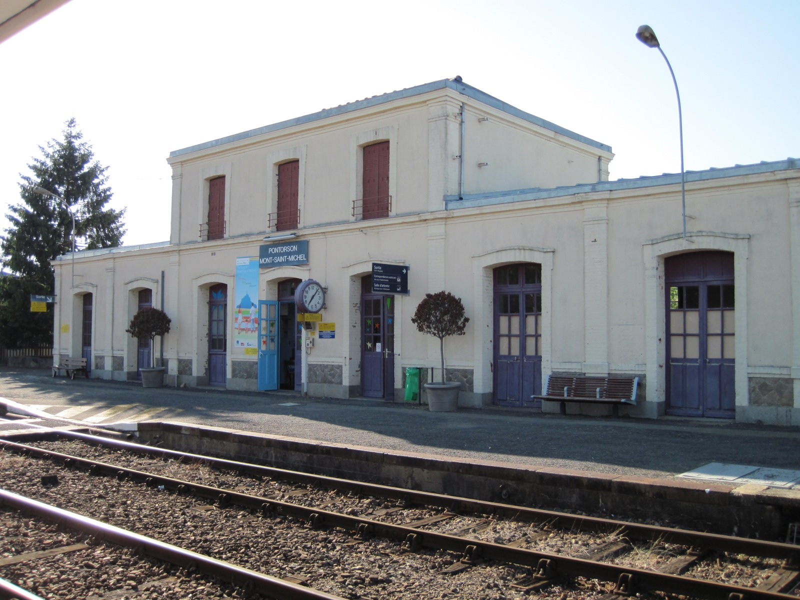 pontorson terminus
