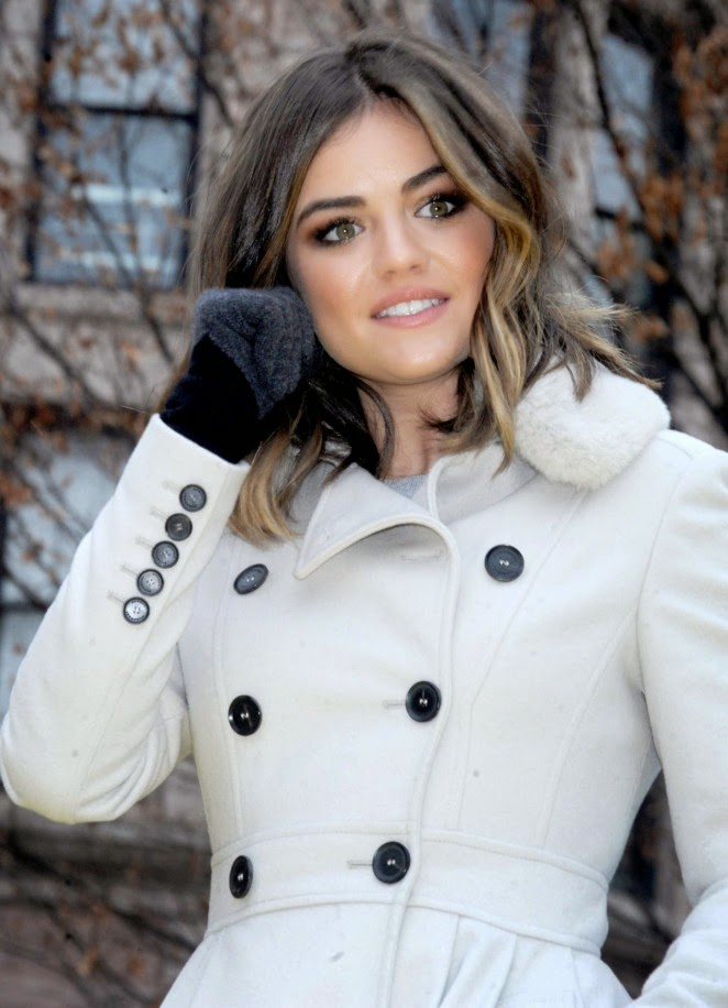 Lucy Hale: 2014 Macys Thanksgiving Day Parade