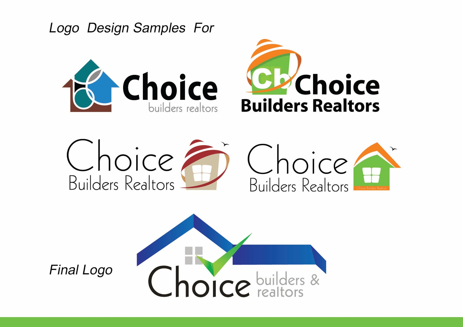 Builder Logo Builders And Realtors Logo