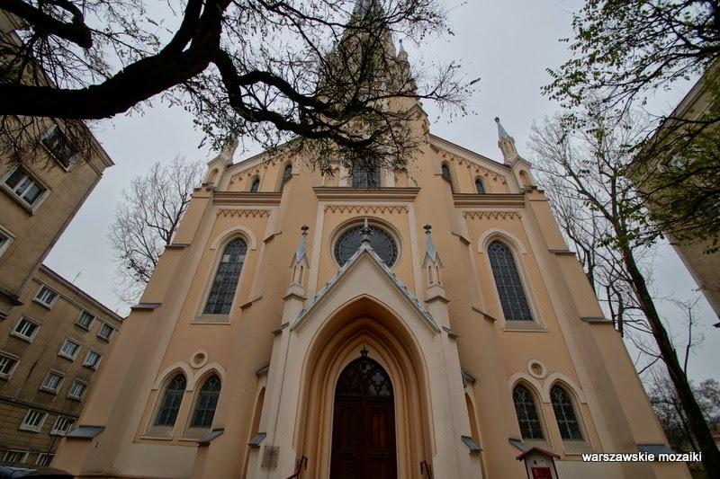 Warszawa Śródmieście aleja Solidarności parafia zbór kościoły