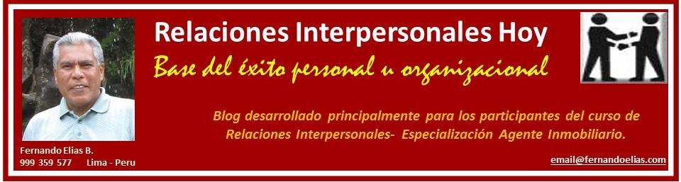 Relaciones Interpersonales Hoy