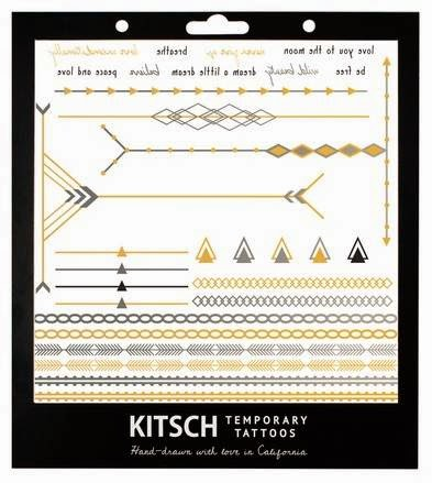 Kitsch Temporary Tattoos
