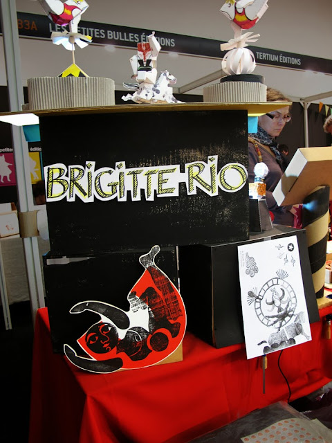 salon du livre pour la jeunesse 2013 - Brigitte Rio - cirque - les Audacieux